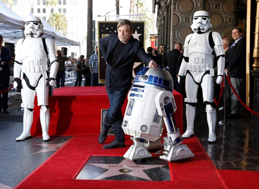 Mark Hamill,actor Mark Hamill,Hollywood Walk of Fame star,Mark Hamill as Hollywood Walk of Fame star,Walk of Fame star,Mark Hamill wallpaper,Mark Hamill poster