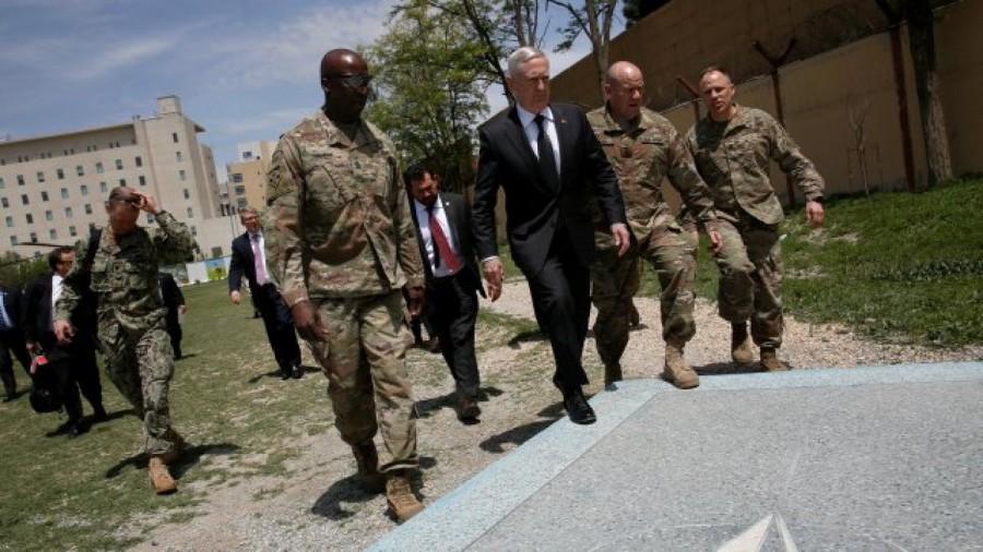 US Defense Secretary James Mattis,James Mattis,US Defense Secretary,James Mattis in Kabul,James Mattis visits Kabul