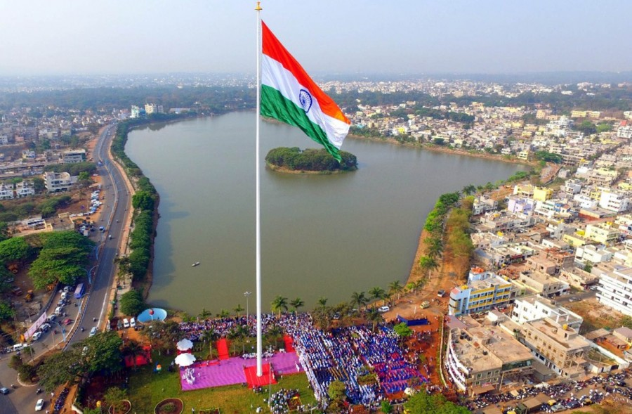 India's tallest flag,India tallest flag,India flag,India tallest flag 110 meters