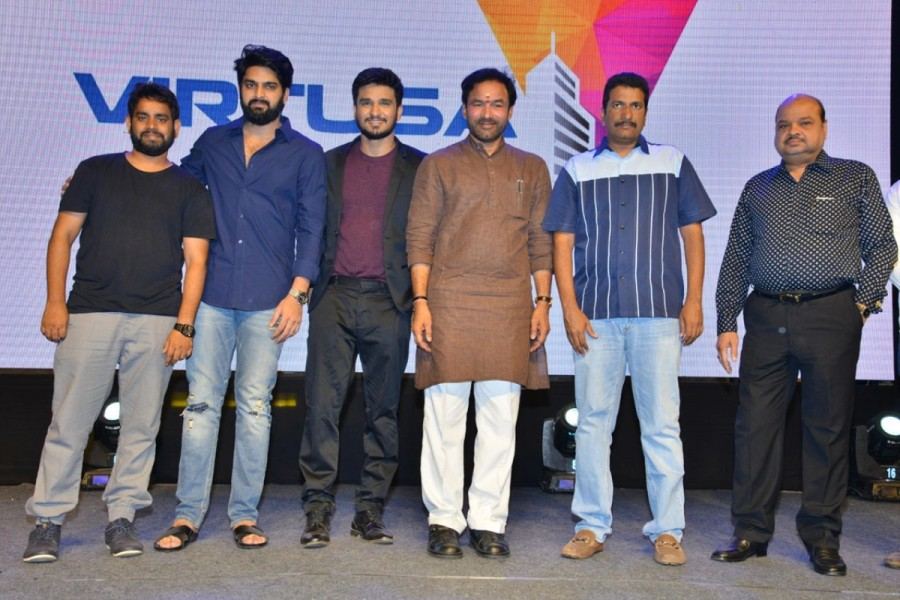 Nikhil Siddharth,Simran Pareenja,Samyuktha Hegde,Kirrak Party pre-release event,Kirrak Party pre-release,Kirrak Party,Kirrak Party pics,Kirrak Party images,Kirrak Party posters,Kirrak Party wallpapers