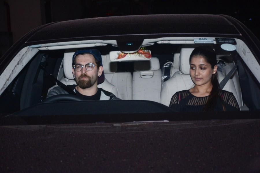 Shilpa Shetty,Boney Kapoor,Khushi Kapoor,Madhuri Dixit,Rekha,Hichki,Hichki special screening,Hichki special screening pics,Hichki special screening images,rani mukerji,Sushmita Sen