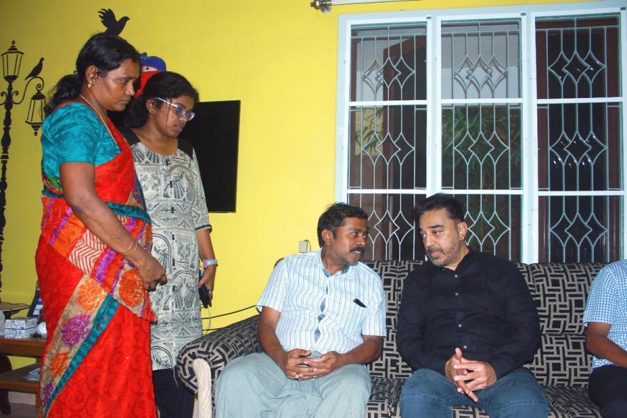 Kamal Haasan,actor Kamal Haasan,kamal haasan politics,Kurangani forest fire,Kurangani forest fire victims,Makkal Needhi Maiam