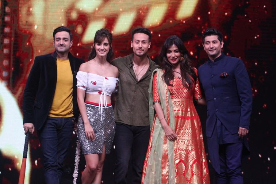 Dance India Dance Li'l Masters,Tiger Shroff,Disha Patani,Tiger Shroff and Disha Patani,Chitrangda Singh,Baaghi 2,Baaghi 2 promotion,Baaghi 2 movie promotion