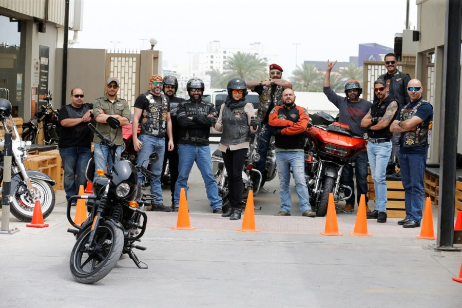 Maryam Ahmed Al-Moalem,Saudi woman,Saudi woman learns motorcycle,woman learns motorcycle,Bahrain