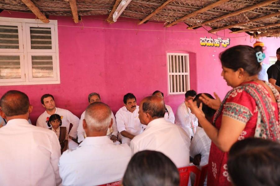 Rahul Gandhi and Siddaramaiah,Rahul Gandhi,Siddaramaiah,Congress President Rahul Gandhi,CM Siddaramaiah,Thenka Yermal