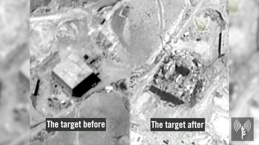 Israel admits bombing suspected Syrian,Israel admits bombing on Syrian,Syrian,Israel,warns Iran,Israel warns Iran,Syrian nuclear reactor