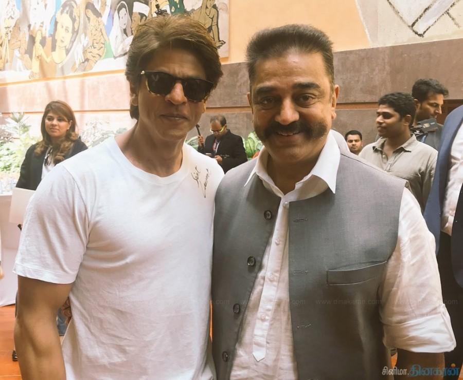 Christopher Nolan,Kamal Haasan,Kamal Haasan with Shah Rukh Khan,Shah Rukh Khan,Kamal Haasan with Amitabh Bachchan,Amitabh Bachchan
