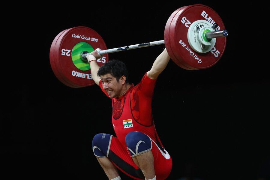 Lifter Deepak Lather,Deepak Lather,Deepak Lather wins bronze,Deepak Lather bronze,Deepak Lather at Commonwealth Games,Commonwealth Games,Commonwealth Games 2018
