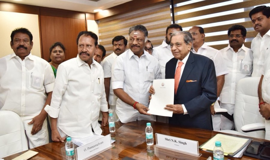 O. Panneerselvam,Deputy Chief Minister O. Panneerselvam,5th Finance Commission,N.K. Singh Chairman,Terms of Reference,K. Palaniswami