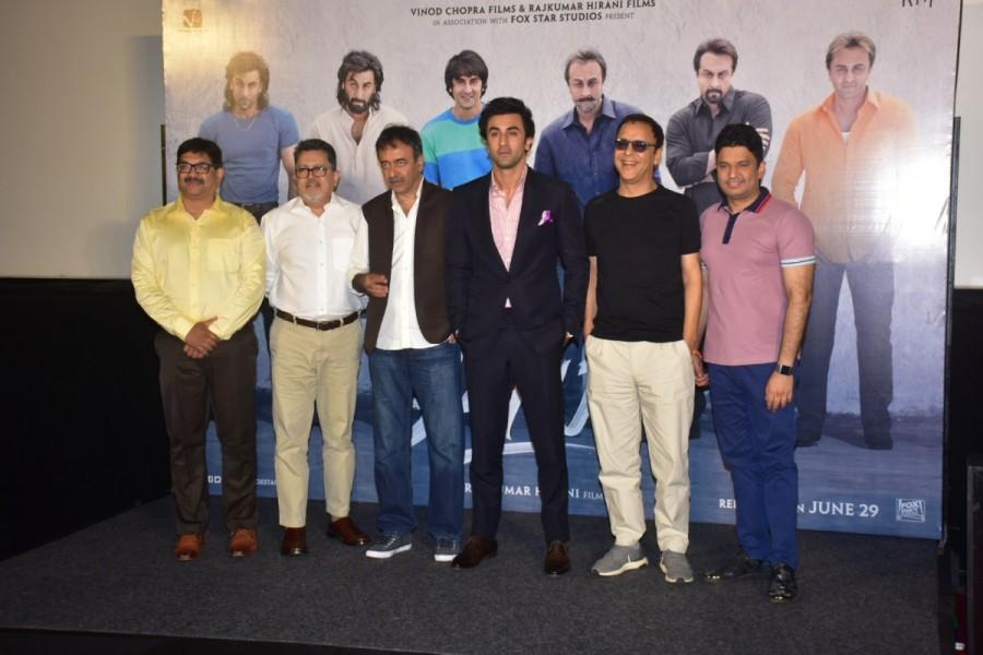 Ranbir Kapoor,Rajkumar Hirani,Vidhu Vinod Chopra,Sanju,Sanju teaser launch,Sanju teaser,Sanju movie teaser
