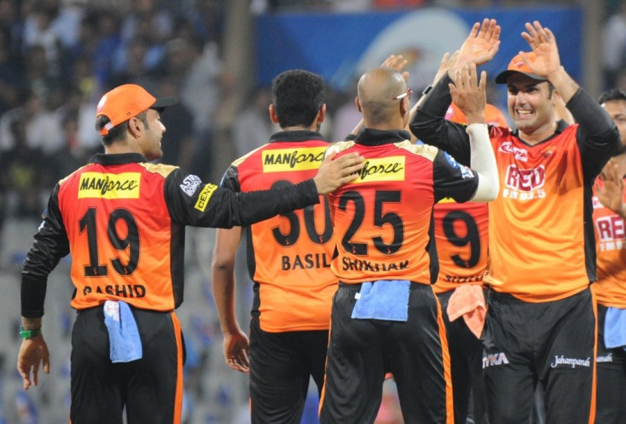 Mumbai Indians,Sunrisers Hyderabad,Sunrisers Hyderabad beats Mumbai Indians,Indian Premier League,Indian Premier League 2018,IPL,IPL 2018,IPL pics,IPL images