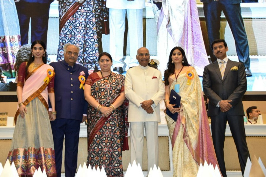 National Film Awards 2018,National Film Awards,Janhvi,Khushi,Boney Kapoor,Sridevi,Sridevi Kapoor,Janhvi Kapoor,Khushi Kapoor,Best Actress award