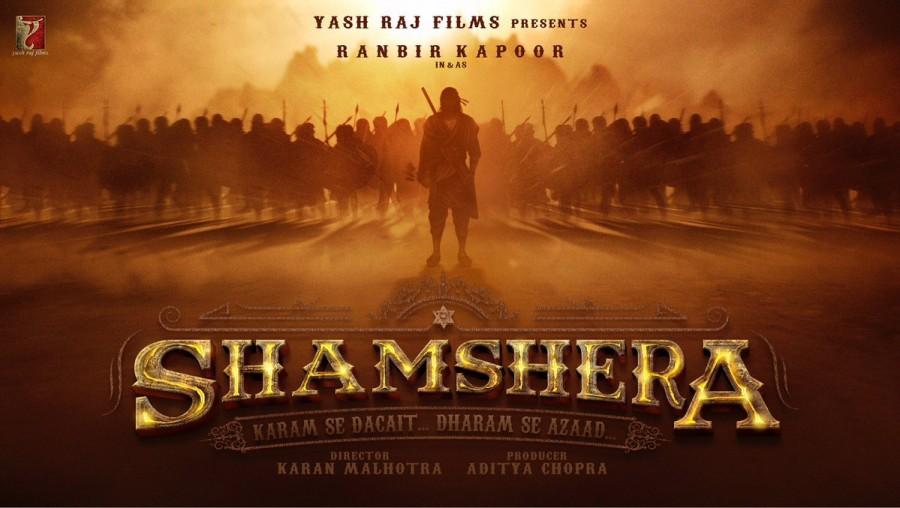 Shamshera,Shamshera first look,Shamshera poster,Shamshera movie poster,Ranbir Kapoor in Shamshera,Ranbir Kapoor,actor Ranbir Kapoor,Ranbir Kapoor as dacoit
