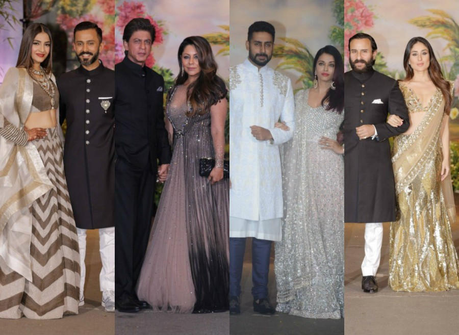 Sonam Kapoor,Sonam Kapoor and Anand Ahuja,Sonam Kapoor and Anand Ahuja wedding reception,Sonam Kapoor and Anand Ahuja wedding reception pics,Sonam Kapoor wedding reception,Sonam Kapoor wedding reception pics