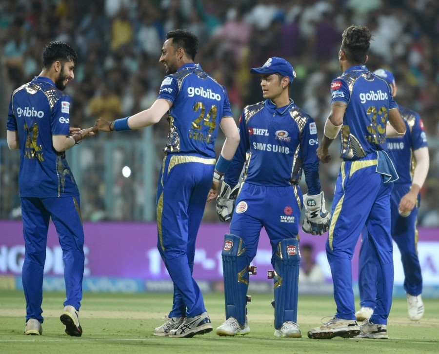 Mumbai Indians,Mumbai Indians beats Kolkata Knight Riders,MI beats KKR,Ishan Kishan,Indian Premier League,Indian Premier League 2018,IPL 2018,IPL 2018 pics,IPL 2018 images
