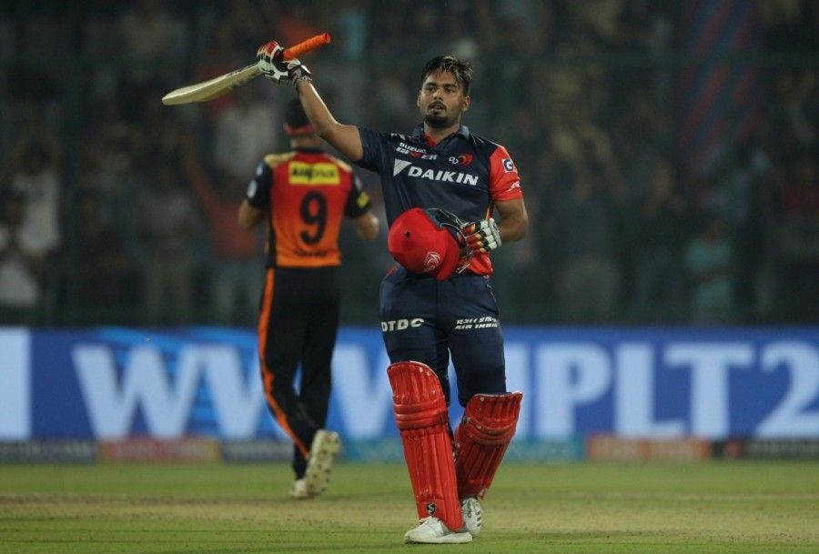 Rishabh Pant,Rishabh Pant century,Sunrisers Hyderabad thrash Delhi Daredevils,Sunrisers Hyderabad beats Delhi Daredevils,IPL 2018,Indian Premier League,Indian Premier League pics,Indian Premier League 2018