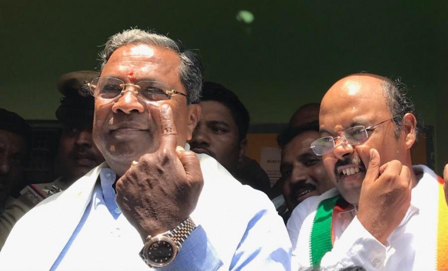 Karnataka Assembly Election 2018,Karnataka Assembly Election,Karnataka Assembly Election 2018 pics,Deve Gowda,Yeddyurappa,Sadananda Gowda