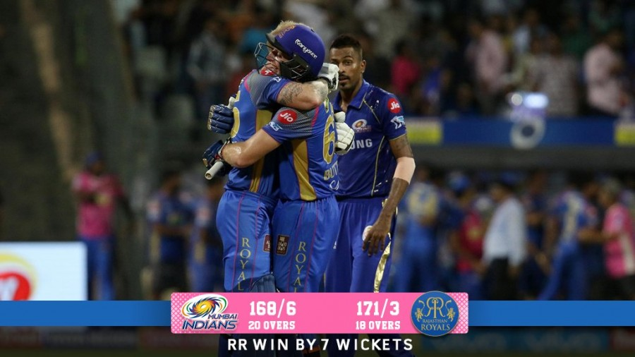 Jos Buttler,Rajasthan Royals,Rajasthan Royals beats Mumbai Indians,Mumbai Indians,Indian Premier League,Indian Premier League 2018,IPL,IPL 2018,IPL pics,IPL images