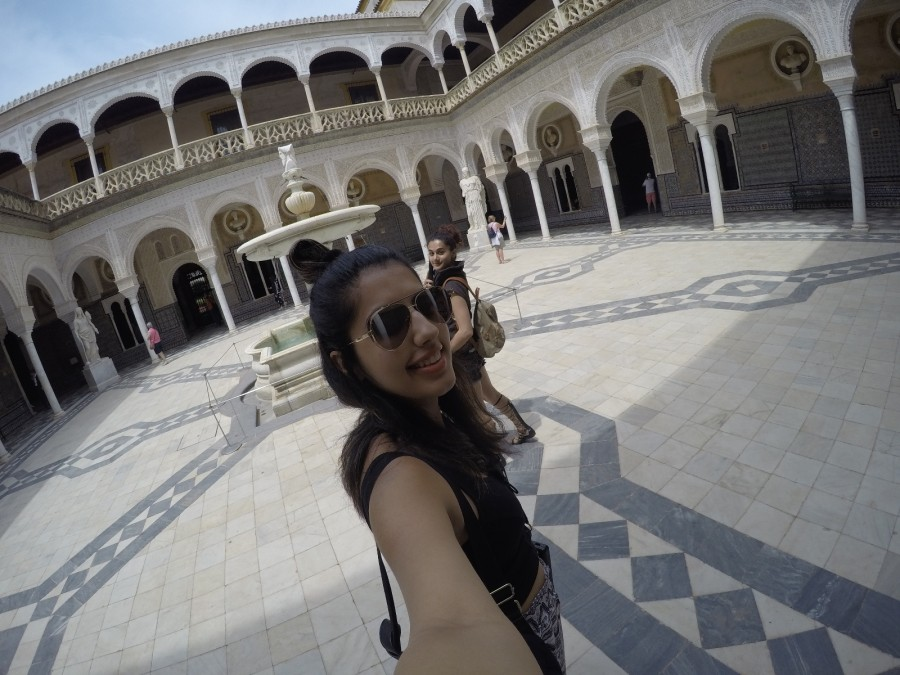Taapsee Pannu,actress Taapsee Pannu,Taapsee Pannu with her sister,Taapsee Pannu and Shagun,Taapsee Pannu in Spain,Taapsee spain pics,Taapsee spain images,Soorma,Diljit Dosanjh