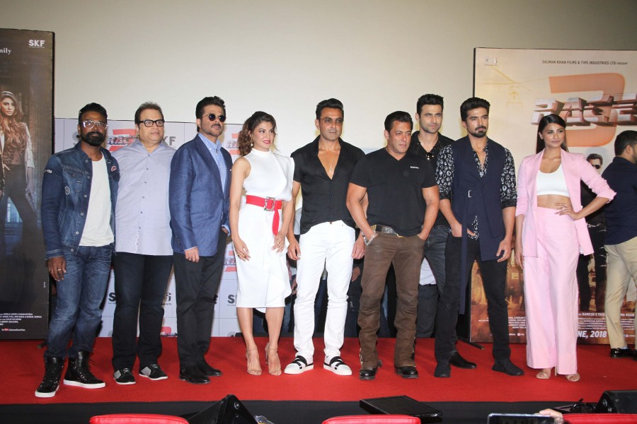 Race 3,Race 3 trailer,Race 3 trailer launch,Salman Khan,Jacqueline Fernandez,Race 3 trailer launch pics,Race 3 trailer launch images,Race 3 trailer launch stills
