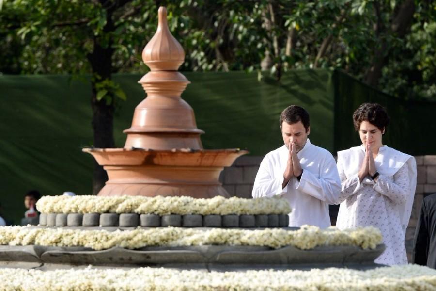 Rahul Gandhi,Congress President Rahul Gandhi,President Rahul Gandhi,Priyanka Gandhi Vadra,Rajiv Gandhi,Rajiv Gandhi death anniversary,Rajiv Gandhi anniversary