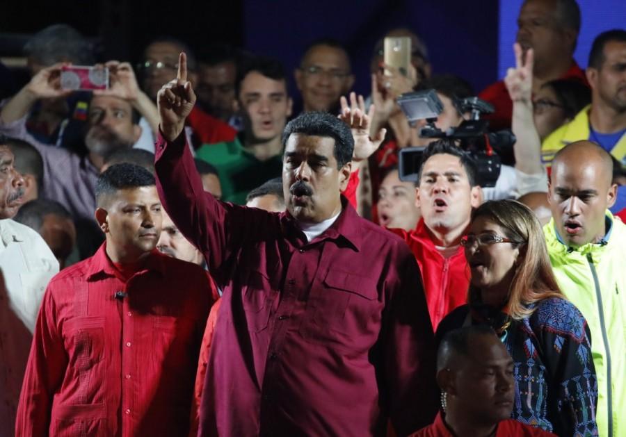 Nicolas Maduro,President Nicolas Maduro,Nicolas Maduro re-elected