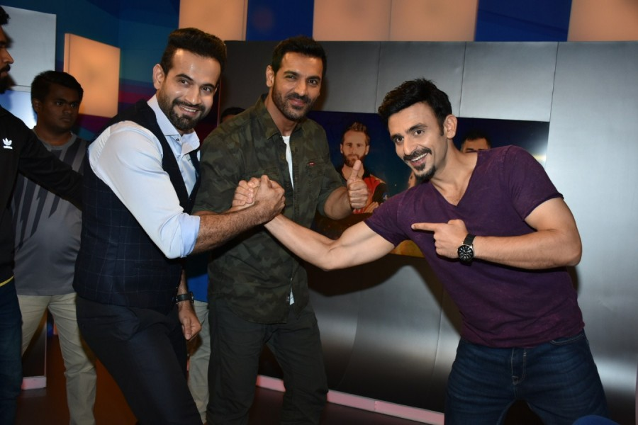 John Abraham,MS Dhoni,Parmanu,Parmanu promotion,Parmanu movie promotion