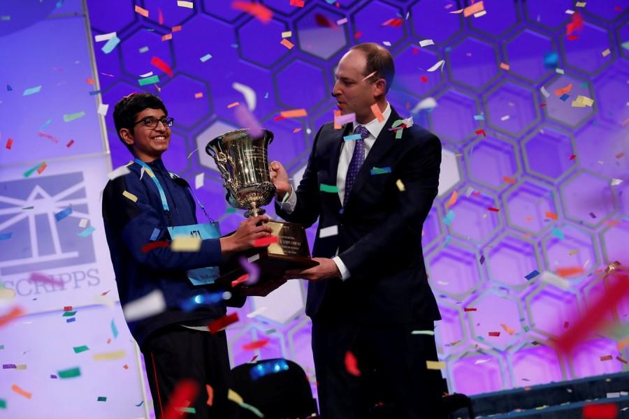 Karthik Nemmani,Karthik Nemmani wins National Spelling Bee,National Spelling Bee,Indian-American,National Spelling Bee winner,Scripps national spelling bee,Koinonia