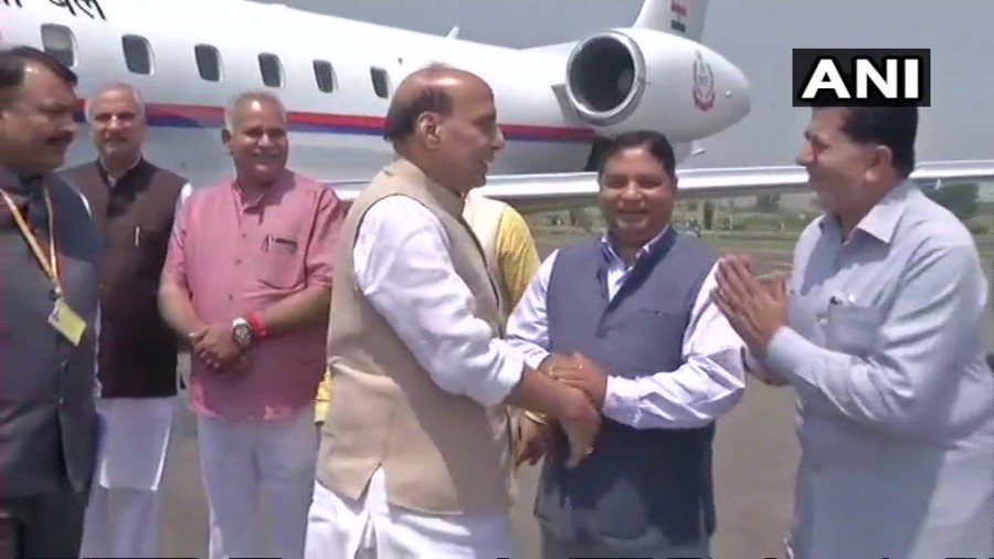 Union Home Minister,Union Home Minister Rajnath Singh,Rajnath Singh,Rajnath Singh at Srinagar,Rajnath Singh in Srinagar