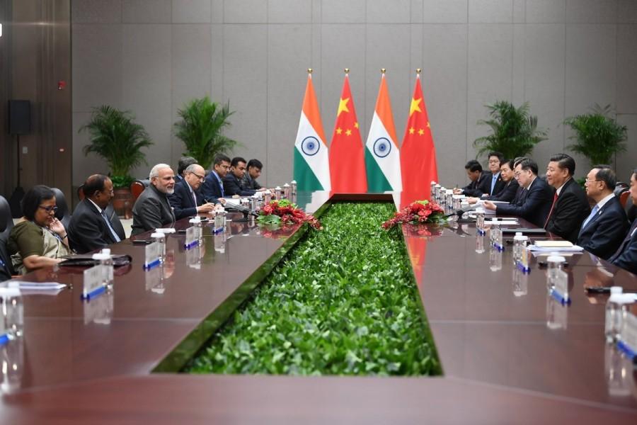 Narendra Modi,PM Narendra Modi,Chinese President,Xi Jinping,SCO Summit sidelines,SCO Summit,18th Shanghai Cooperation Organisation