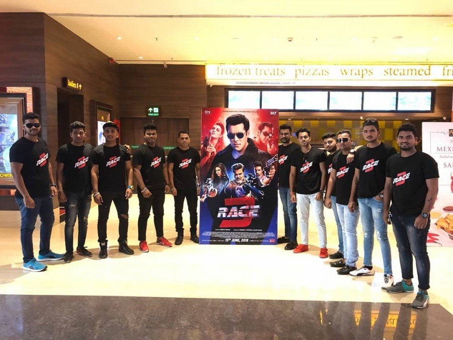 Race 3,Race 3 release,salman khan race 3,Jacqueline Fernandez,Salman khan jacqueline fernandez,Race 3 movie,Race 3 first day