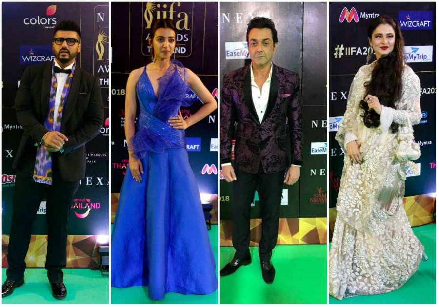 IIFA Awards 2018,IIFA Awards,Arjun Kapoor,Kriti Sanon,Radhika Apte,Shraddha Kapoor,Rekha,Nawazuddin Siddiqui,Rahul Bose,celebs at IIFA Awards 2018,IIFA Awards 2018 pics,IIFA Awards 2018 images,IIFA Awards 2018 stills,IIFA Awards 2018 pictures,IIFA Awards