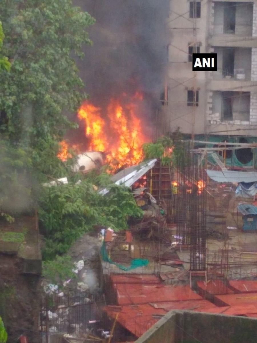 Chartered Aircraft,Chartered Aircraft crash,Aircraft crash,Mumbai Suburb,Ghatkopar