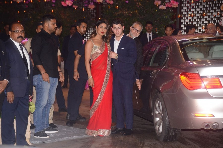 Priyanka Chopra,Priyanka Chopra  and Nick Jonas,Nick Jonas,Akash Ambani,akash ambani engagement