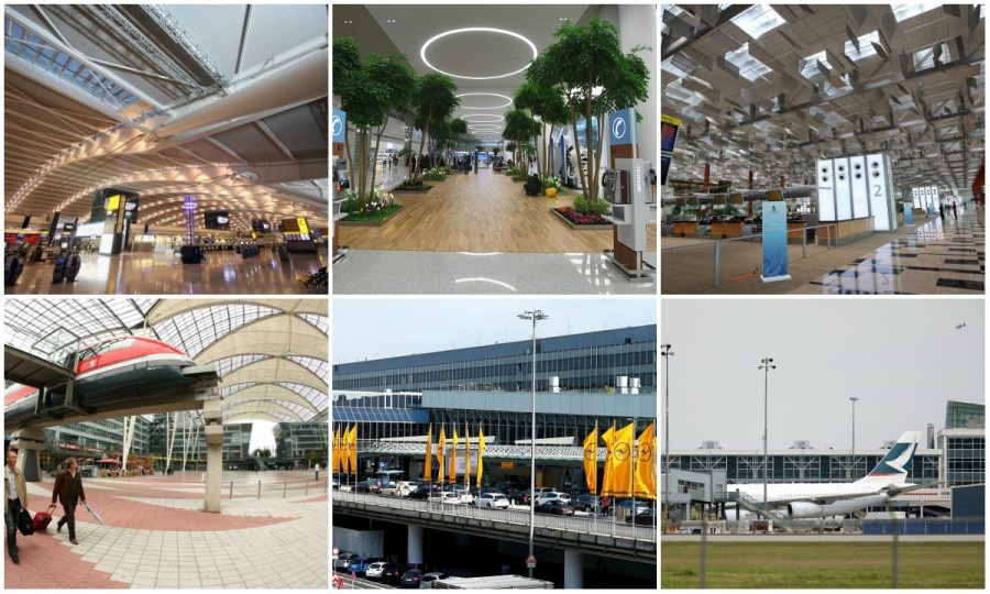Best airports,best airports in the world,world's best airports,world's best airports 2018,2018 Skytrax World Airport Awards,world's best airport awards
