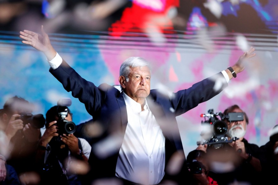 Mexico election,Left-wing candidate,Andres Manuel Lopez Obrador,Obrador wins presidential vote,Mexico election presidential vote