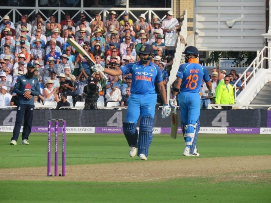 Rohit Sharma,Kuldeep Yadav,Virat Kohli,India thrash England,India beats England,India vs England,India thrash England 1st ODI