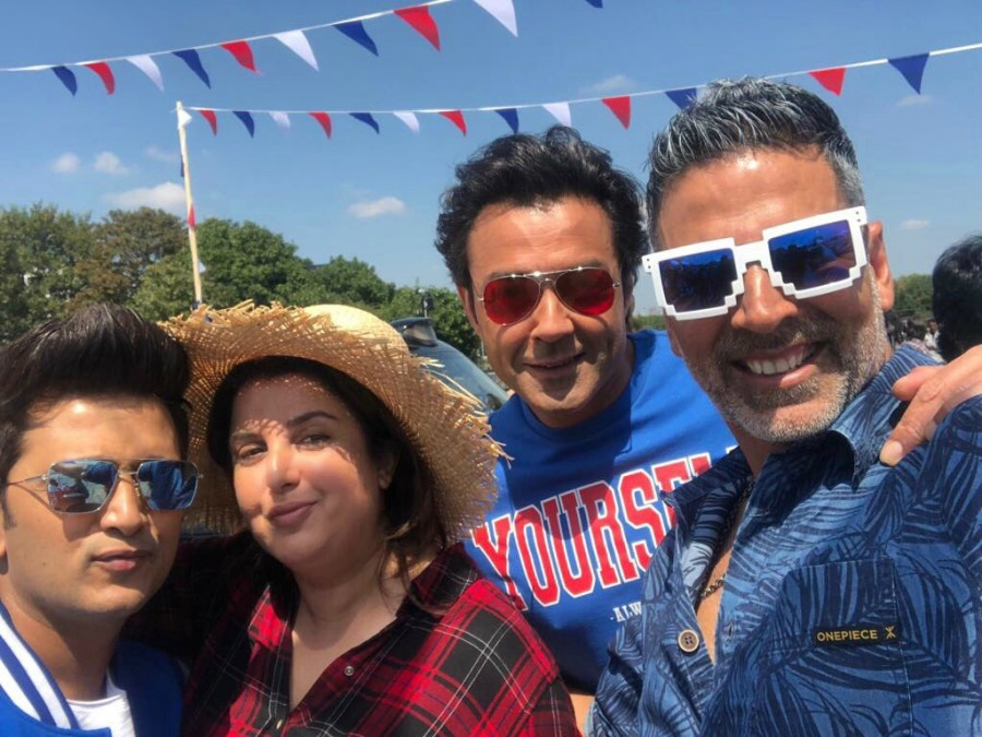 Farah Khan,Super Hit,Super Hit song,Super Hit song Housefull 4,Housefull 4,Housefull 4 song,Housefull 4 song shoot,Akshay Kumar,Bobby Deol,Riteish Deshmukh