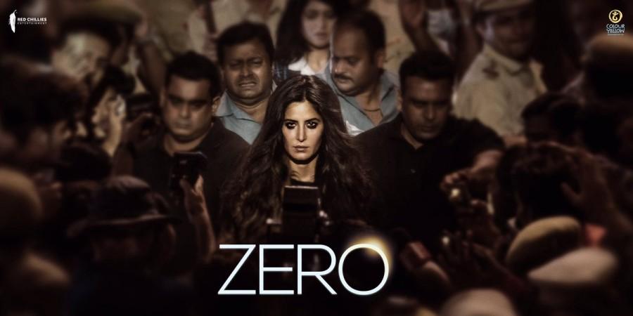 Shah Rukh Khan,SRK,Katrina Kaif,Katrina Kaif birthday,Katrina Kaif Zero first look,Katrina Kaif Zero first look poster,Katrina Kaif Zero poster,Zero,Zero first look,Zero first look poster