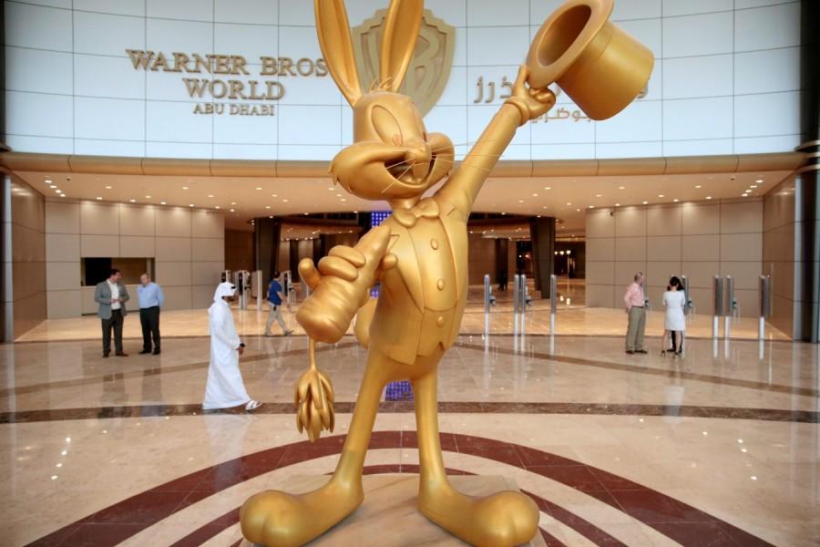 Warner Bros World Theme Park,Warner Bros World Theme Park in Abu Dhabi,Abu Dhabi Warner Bros World Theme Park,world's largest indoor amusement parks
