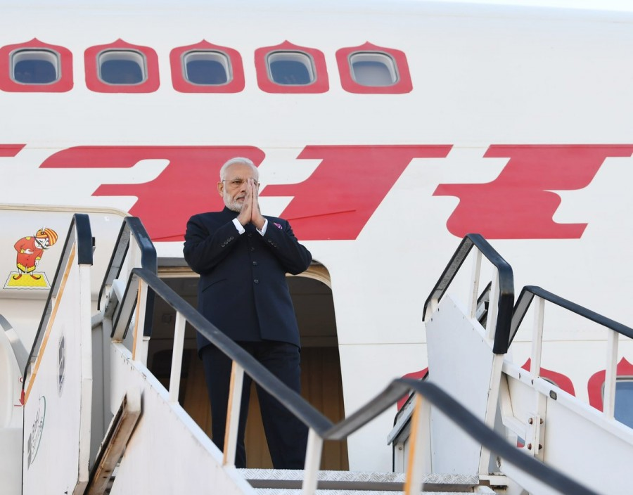 PM Narendra Modi,Narendra Modi reaches South Africa,Modi reaches South Africa,BRICS Summit,Modi at BRICS Summit,10th BRICS Summit
