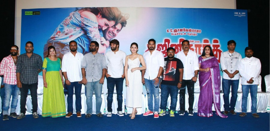 Ghajinikanth movie press meet,Ghajinikanth press meet,Arya,Sayyeshaa Saigal,Santhosh Jayakumar,Ghajinikanth press meet pics,Ghajinikanth press meet images,Ghajinikanth press meet stills,Ghajinikanth press meet pictures,Ghajinikanth press meet photos