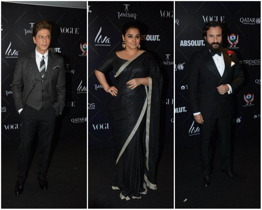 Shah Rukh Khan,Saif Ali Khan,Yami Gautam,Vidya Balan,Vogue Beauty Awards,Vogue Beauty Awards 2018,Celebs at Vogue Beauty Awards 2018,Celebs at Vogue Beauty Awards,Vogue Beauty Awards pics,Vogue Beauty Awards images,Vogue Beauty Awards stills