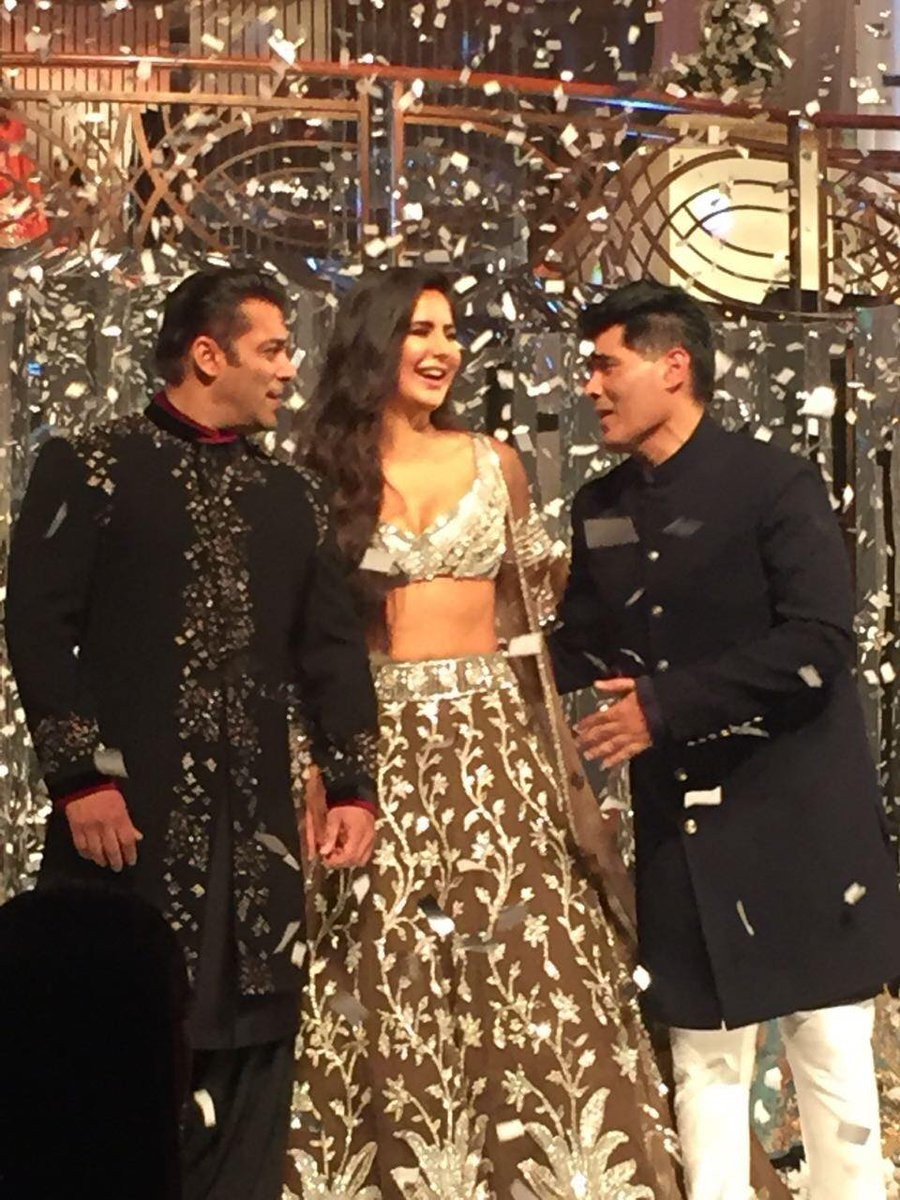 Salman Khan and Katrina Kaif,Salman Khan,Katrina Kaif,Manisha Malhotra Fashion Show 2018,Manisha Malhotra Fashion Show,Salman Khan and Katrina Kaif walk the ramp