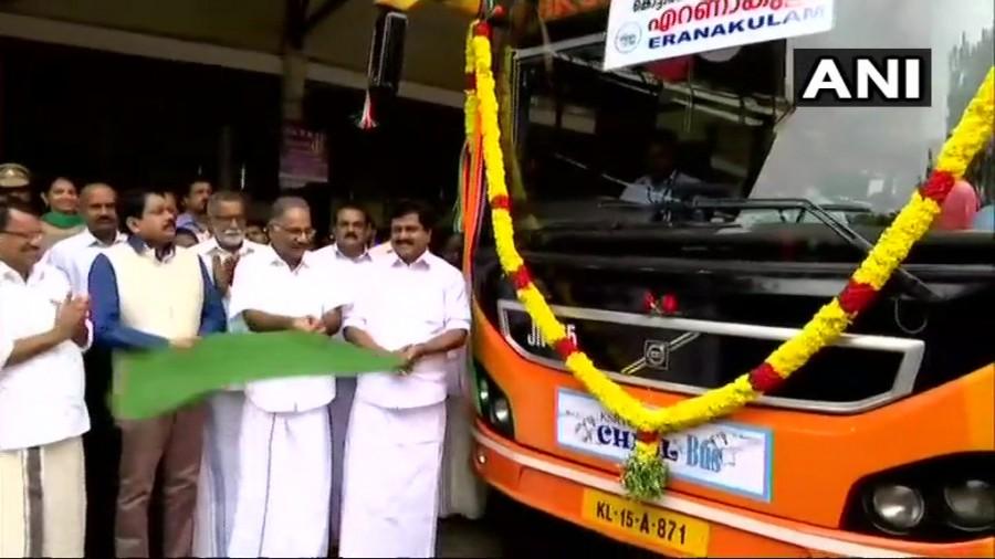AK Saseendran,Chill Bus,Chill Bus service,Chill Bus service in Kerala,Kerala Transport minister,Kerala Transport minister AK Saseendran