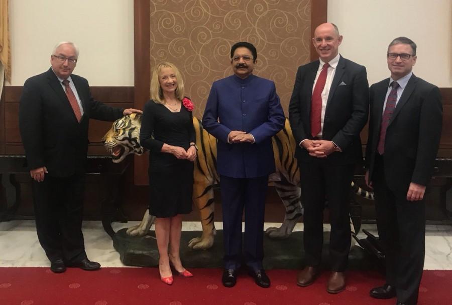 Australian Parliamentary delegation,Vidyasagar Rao,Governor Vidyasagar Rao,Governor of Maharashtra,Raj Bhavan