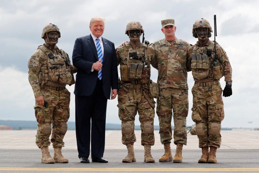 President Donald Trump,Donald Trump,defence policy bill