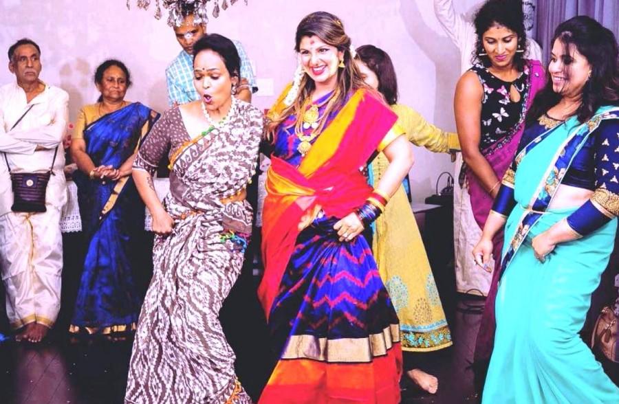 Rambha,actress Rambha,Rambha baby bump,Rambha baby,Rambha dances during Seemantham,Rambha Seemantham,Rambha Seemantham pics,Rambha Seemantham images,Rambha Seemantham photos,Rambha Seemantham pictures
