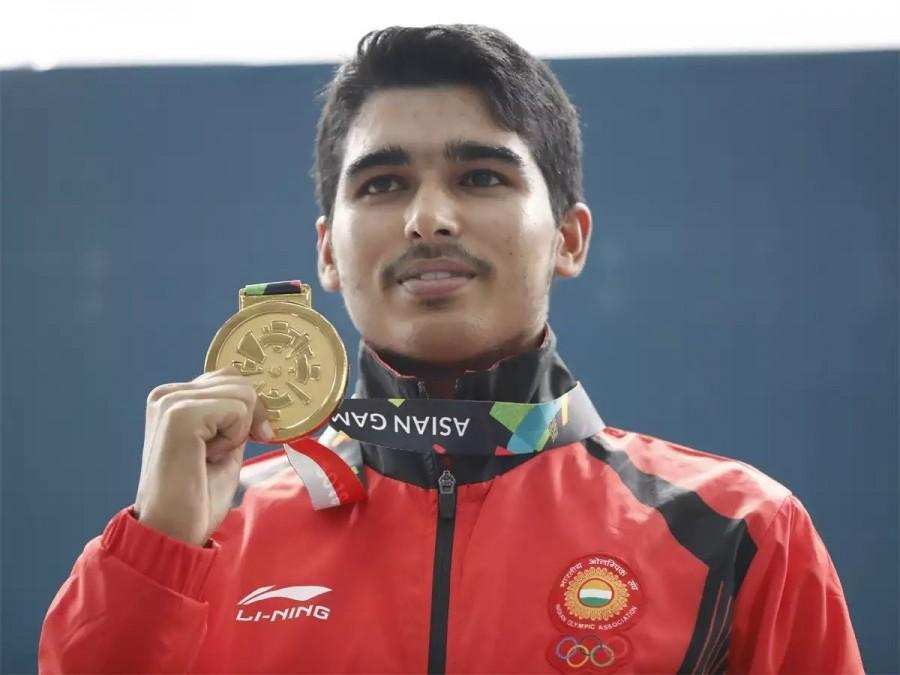 Saurabh Chaudhary,Saurabh Chaudhary wins gold,Asian Games 2018,Asian Games