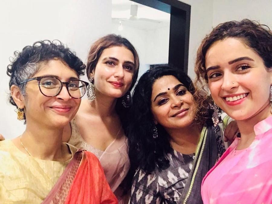 Fatima Sana Sheikh,Aamir Khan,Fatima Aamir Khan,Fatima Aamir Kiran Rao,Fatima Sana Sanya Malhotra,Sanya Malhotra Fatima Sana Sheikh pics,Fatima Sana Sheikh news,Fatima Sana Sheikh